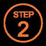 Step 2 Orange Icon