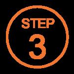 Step 3 Orange Icon