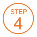 Step 4 Orange Icon
