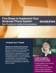 5 Steps to Implement Your Business Phone System