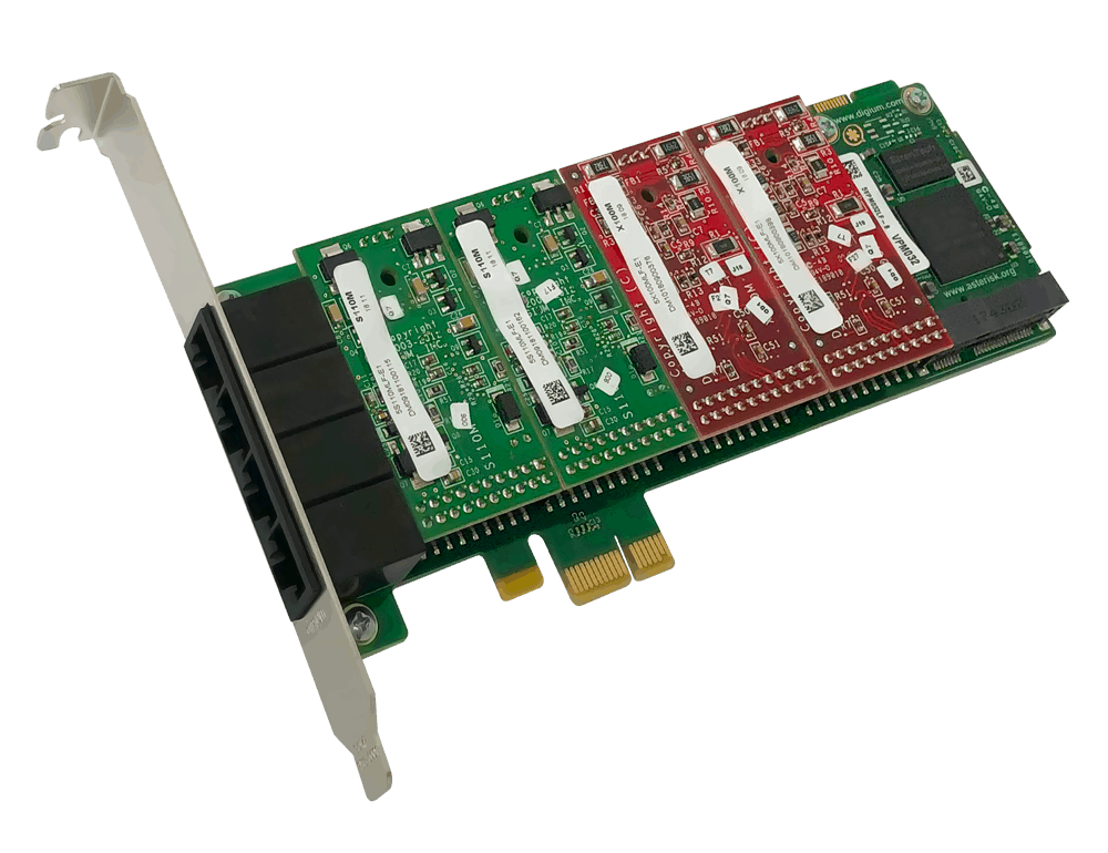 A4 Series Analog Cards