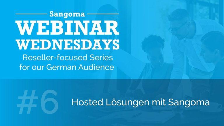 Hosted Lösungen mit Sangoma