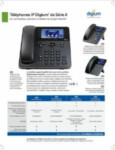 A-Series IP Phones for Asterisk Datasheet (French)