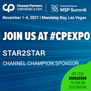 Channel Partners 2021 - Join us at #CPEXPO - Use code STAR2STAR to save on registration