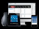 Switchvox Wallboard, Mobile phone, and IP Phone