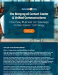 The Merging of Contact Center and Unified Communications