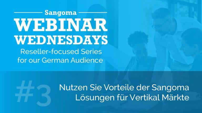 Nutzen Sie Vorteile der Sangoma Lösungen für Vertikal Märkte