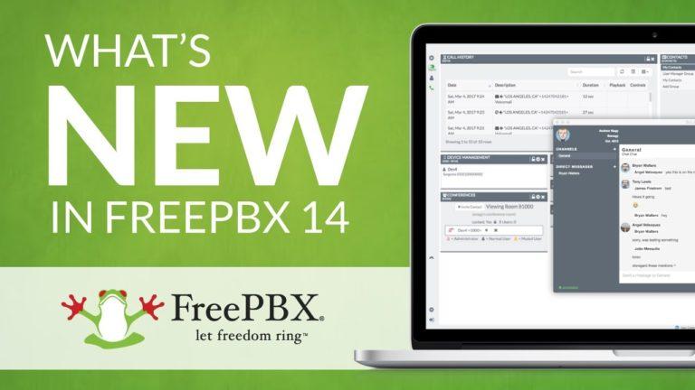 What's New in FreePBX 14?
