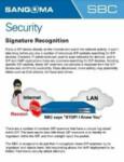 Signature Recognition Cheatsheet