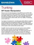 SIP Header Manipulation Cheatsheet
