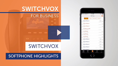Switchvox for Business - Softphone Highlights Thumbnail