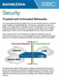 Trusted and Untrusted Networks Cheatsheet