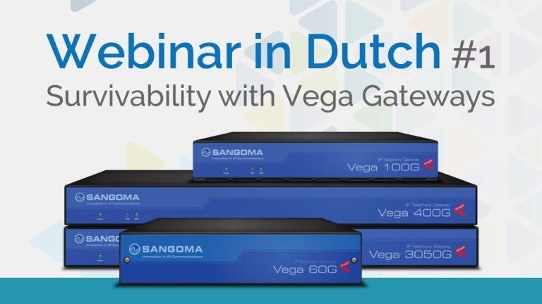 Survivability with Vega Gateways