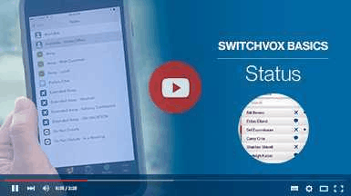 Getting Started with Switchvox - Status Thumbnail